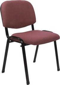 Irodai szék, vörösesbarna, ISO 2 NEW