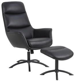 Ízléses relax fotel Niobe - fekete II
