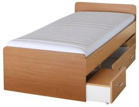 Ágykeret, bükk, 90x200, DUET 80262