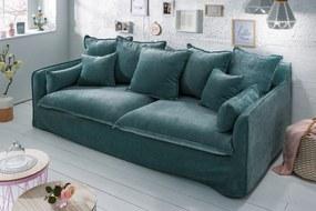 HEAVEN modern kanapé - kék - 210cm