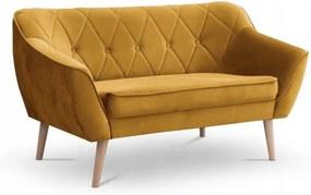 SD DEANA II kárpitozott kanapé - sárga