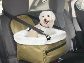 Autós biztonsági kutyaülés, kisállat hordozó - A kedvenced is biztonságban!