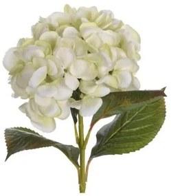 Hortenzia művirág, zöld, 65 cm