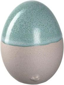 SAVONA kerámia tojás 6cm, zöld - Leonardo