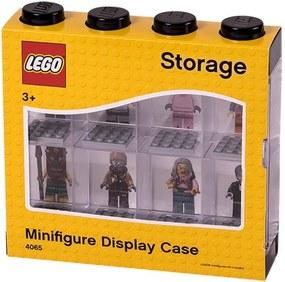 Fekete-fehér minifigura gyűjtődoboz, 8 db minifigurához - LEGO®