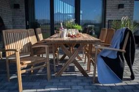 Rhys kerti étkezőasztal