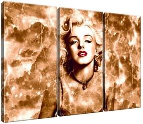 Vászonkép Marilyn Monroe villámok és csillagok 90x60cm 2476A_3J