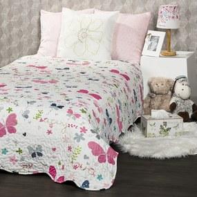 4Home Butterfly gyerek ágytakaró, 140 x 200 cm