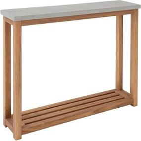 CONCRETE konzol asztal