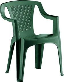 Palermo kerti szék zöld