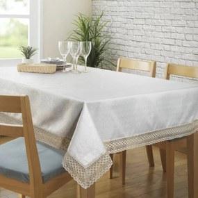 Karina csipkés asztalterítő Krémszín 140 x 180 cm - HS324701