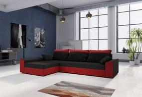 PAMELA ágyázható sarok ülőgarnitúra, 245x85x140, mikrofázis 15/22, bal