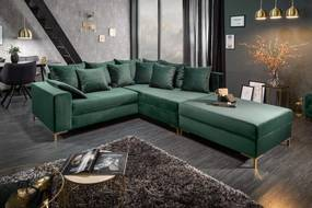 LOFT zöld kanapé 220cm