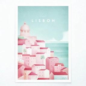 Lisbon poszter, A2 - Travelposter