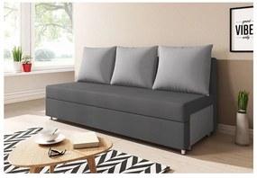 LISA kanapé, szürke/világosszürke (alova 48/alova 10)