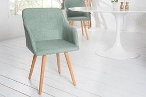 Scandinavia szék zöld