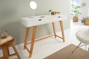 SCANDINAVIA fehér konzolasztal 100cm