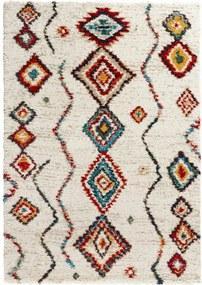 Geometric krémszínű szőnyeg, 160 x 230 cm - Mint Rugs