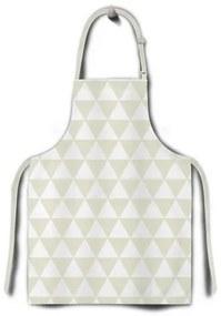 Domarex Home Chef kötény, bézs, 65 x 75 cm