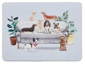 Curious Dogs 4 db-os parafa tányéralátét szett - Cooksmart ®