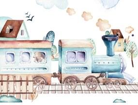 Vonat fotótapéta több méretben, alapanyagban