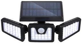 3 paneles elforgatható napelemes lámpa