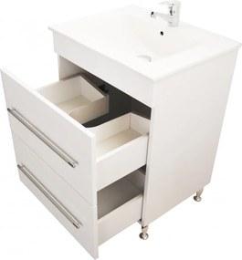 Bazena Premium60 fürdőszobai alsószekrény mosdóval 60 cm fehér