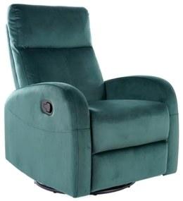 ASKIO Velvet fotel, 72x101x80-160, bluvel 78