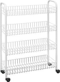 Laundry négyszintes fürdőszobai állvány, 23 x 84 cm - Metaltex