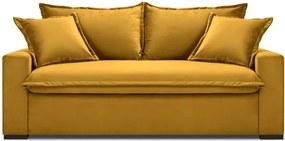 Mezzo sárga kinyitható kanapé - Kooko Home