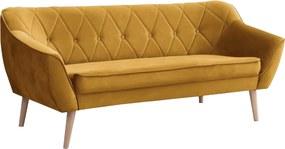 SD DEANA III kárpitozott kanapé - sárga
