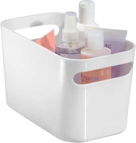 Una fehér tárolókosár, 25,5 x 15,5 cm - iDesign