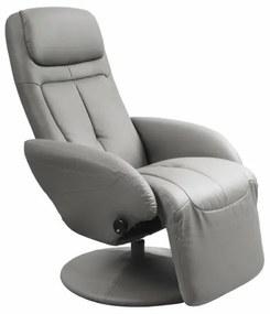 OPTIMA relax fotel, szürke