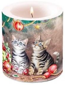 Karácsonyi átvilágítós gyertya Magic of Christmas 8x7,5cm