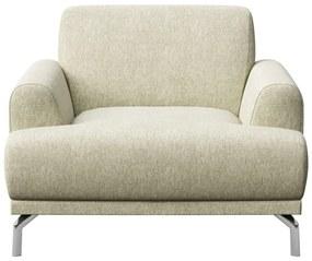 Puzo világosbézs fotel - MESONICA