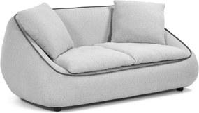 Safira világosszürke kanapé - La Forma, 160 cm