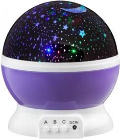 Projektor LED Starlight - lila