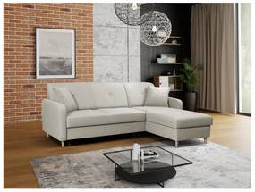 FOSIE sarok kanapéágy, 220x88x162, hugo 1, jobb sarok