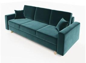 KRONOS ágyazható kárpitozott kanapé, 230x87x90, itaka 10
