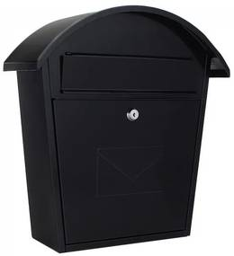 T02934 Jesolo postaláda fekete színben 370x360x135mm