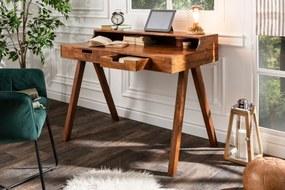 MONSOON tömör akác íróasztal - 100cm