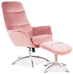JIMMY fotel, 68x110x73, bluvel 52