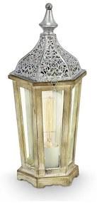 Eglo Eglo 49277 - Asztali lámpa KINGHORN 1xE27/60W/230V EG49277