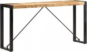 Tömör mangófa tálalóasztal 150 x 35 x 76 cm
