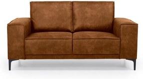 Copenhagen konyakbarna műbőr kanapé, 164 cm - Scandic