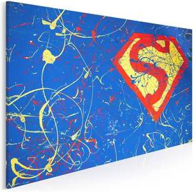 Superbohater vászonkép