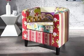 Ibiza Patchwork fotel színes