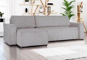 Smart kinyitható univerzális kanapé, világosszürke