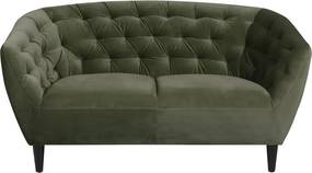 Stílusos kettes fotel Nyree erdei zöld