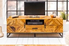 OMNIA tömör mangófa TV-szekrény